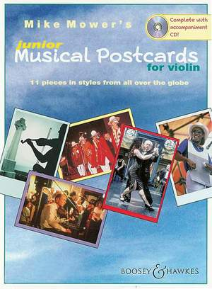 Mower, M: Junior Musical Postcards