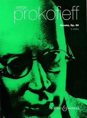 Prokofieff, S: Sonata for two violins op. 56