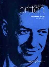 Britten, B: Lachrymae op. 48