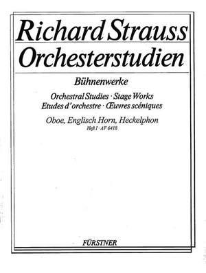 Strauss, R: Orchestral Studies Stage Works: Oboe Vol. 1