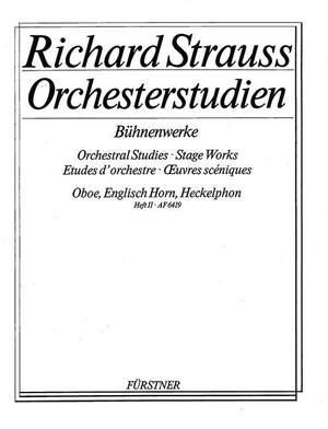 Strauss, R: Orchestral Studies Stage Works: Oboe Vol. 2
