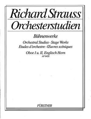 Strauss, R: Orchestral Studies Stage Works: Oboe Vol. 3
