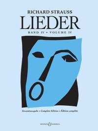 Strauss, R: Lieder Band 4