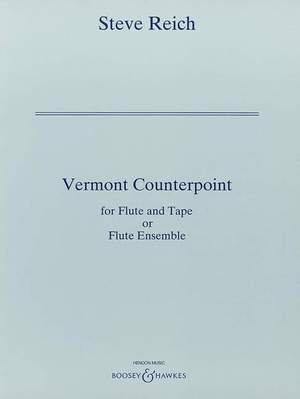 Reich, S: Vermont Counterpoint