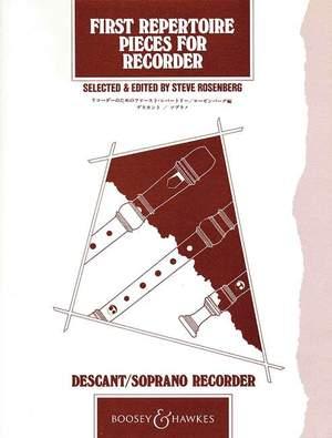 First Repertoire Pieces (Descant Recorder)