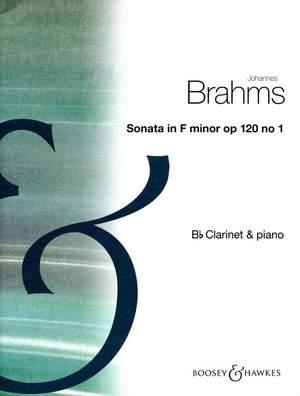 Brahms, J: Sonata 1 In F Minor op. 120/1