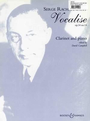 Rachmaninoff, S: Vocalise op. 34/14