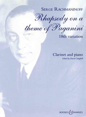Rachmaninoff, S: Rhapsody on a Theme of Paganini op. 43
