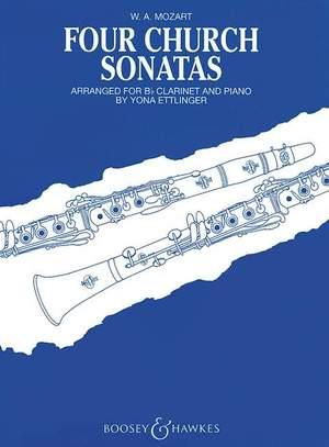 Mozart, W A: Four Church Sonatas KV 67, 68, 244, 336