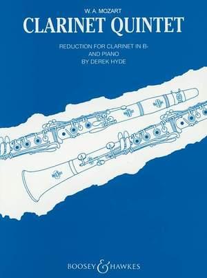 Mozart, W A: Clarinet Quintet In A major KV 581