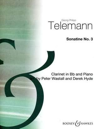 Telemann: Sonatina No. 3
