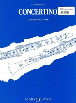 Weber: Clarinet Concertino op. 26