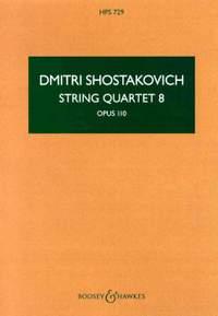 Dmitri Shostakovich: String Quartet No. 8, op. 110