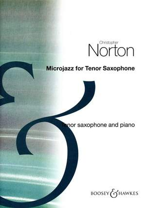 Norton, C: Microjazz for Tenor Saxophone