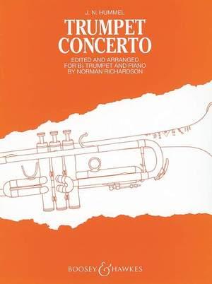 Hummel, J N: Trumpet Concerto