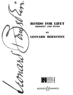 Bernstein, L: Rondo for Lifey