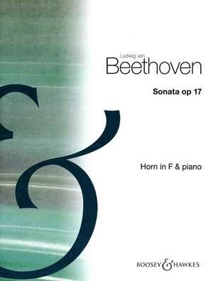 Beethoven, L v: Sonata in F Major op. 17