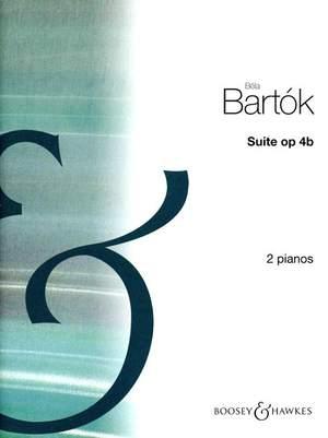 Bartók, B: Suite op. 4b Product Image