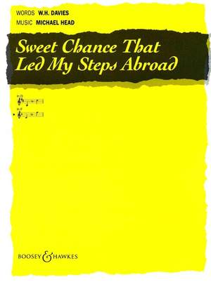 Head, M: Sweet Chance Led My Steps In F