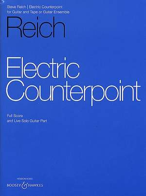 Reich, S: Electric Counterpoint
