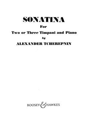 Tcherepnin, A: Sonatina for Timpani