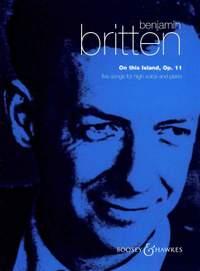 Britten, B: On This Island op. 11