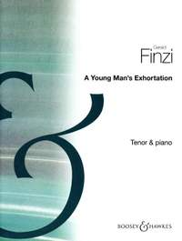 Finzi, G: Young Man's Exhortation op. 14