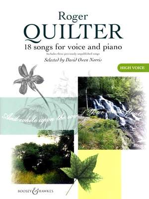 Quilter, R: The Roger Quilter Songbook