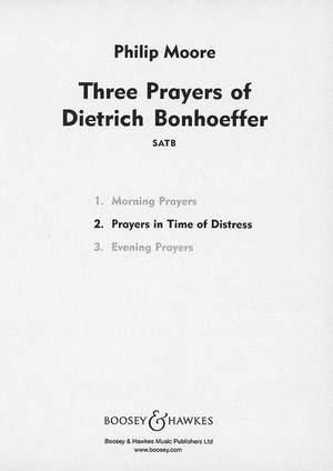 Moore, P: Three Prayers of Dietrich Bonhoeffer
