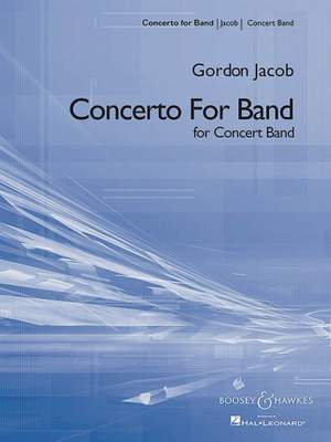 Jacob, G: Concerto for Band