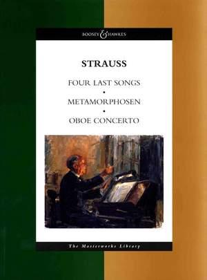 Strauss, R: Four Last Songs / Metamorphosen / Oboe Concerto