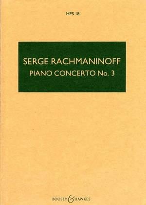 Rachmaninoff, S: Piano Concerto No. 3 D minor op. 30