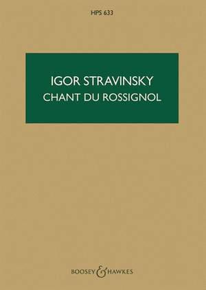 Stravinsky, I: Le Chant du Rossignol   HPS 633
