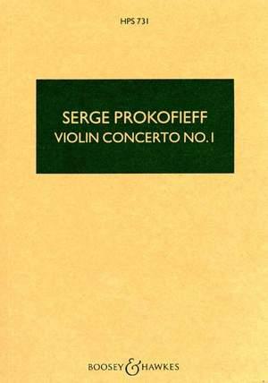 Prokofieff, S: Violin Concerto No. 1 op. 19  HPS 731