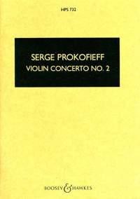 Prokofieff, S: Violin Concerto No. 2 G minor op. 63