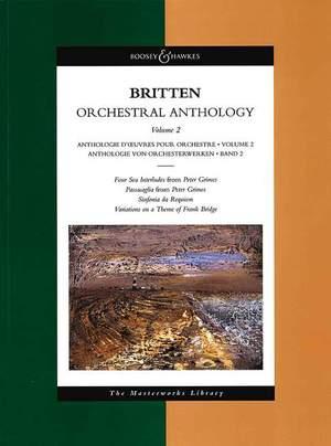 Britten, B: Orchestral Anthology Vol. 2