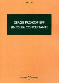 Serge Prokofieff: Sinfonia Concertante, op. 125