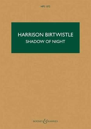 Birtwistle: The Shadow of Night