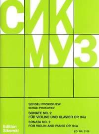 Prokofiev: Violin Sonata No. 2 op. 94a