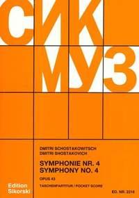 Shostakovich: Symphony 4 in C Minor op. 43