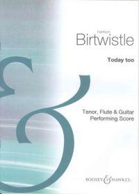 Birtwistle: Today Too