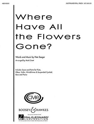 Seeger, P: Where Have All the Flowers Gone? Product Image