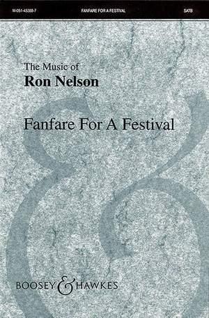 Nelson, R: Fanfare for a Festival