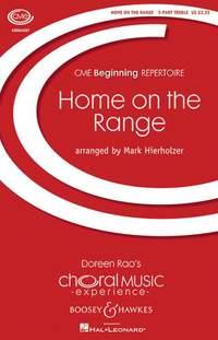 Hierholzer, M: Home On The Range