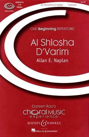 Naplan, A E: Al Shlosha d'Varim