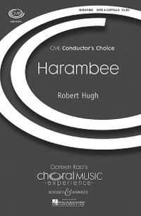 Hugh, R: Harambee