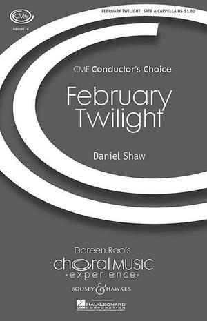 Shaw, D: February Twilight