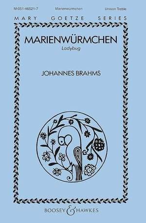 Brahms, J: Marienwürmchen o. op.