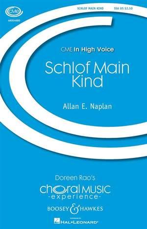 Naplan, A E: Schlof Main Kind