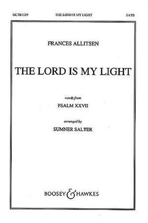 Allitsen, F: The Lord Is My Light